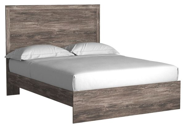 Ralinksi - Gray - Queen Panel Bed