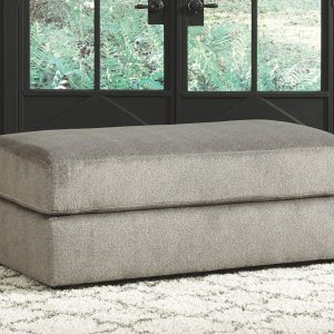 Soletren - Ash - Oversized Accent Ottoman