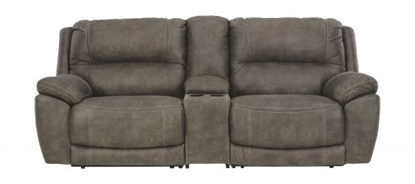 Cranedall – Quarry – Left Arm Facing Zero Wall Power Recliner, Console with Storage, Right Arm Facing Zero Wall Power Recliner 2