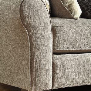 Pantomine - Driftwood - LAF Cuddler, Armless Loveseat, Wedge, Armless Chair, RAF Loveseat Sectional - 1