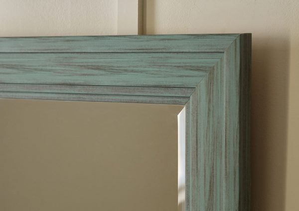 Jacee - Antique Teal - Accent Mirror - 4