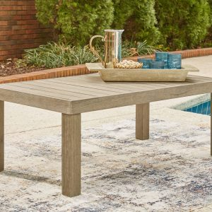 Silo Point - Brown - Rectangular Cocktail Table - 1