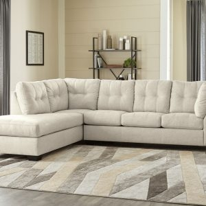 Falkirk – Parchment – Sleeper Sectional with Chaise