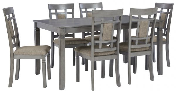 Jayemyer – Charcoal Gray – RECT DRM Table Set