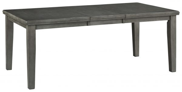 Hallanden – Gray – RECT DRM Butterfly EXT Table