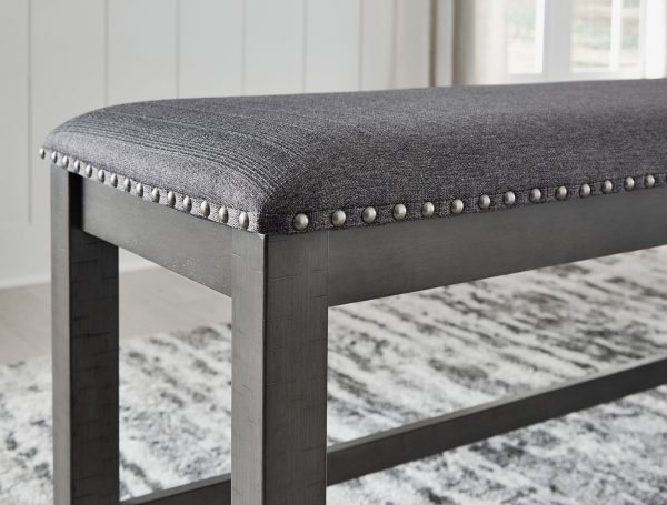 Myshanna - Two-tone Gray - Double UPH Bench - 3