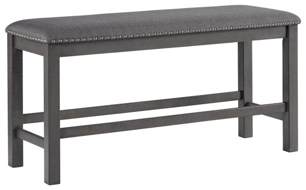 Myshanna - Two-tone Gray - Double UPH Bench