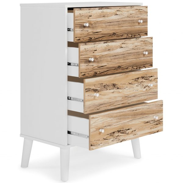 Piperton - Two-tone - Four Drawer Chest - 1