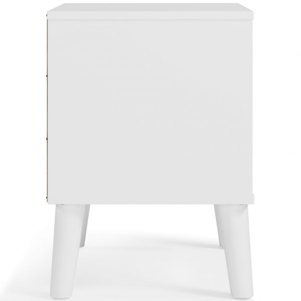 Piperton - Two-tone - One Drawer Night Stand - 4