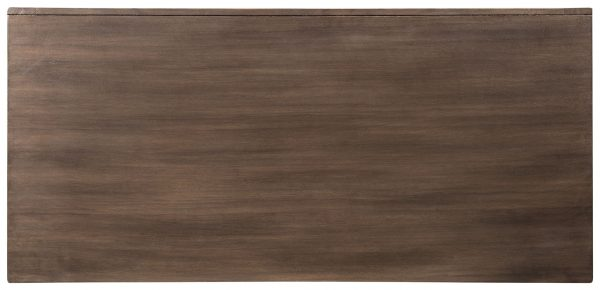 Grantleigh - Brown/Gold Finish - Accent Cabinet 8