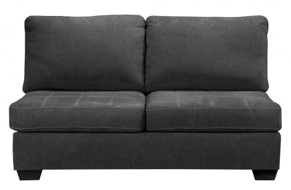 Ambee - Slate - Left Arm Facing Sofa, Armless Loveseat, Right Arm Facing Corner Chaise Sectional - 3