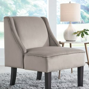 Janesley - Taupe - Accent Chair - 1