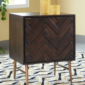 Dorvale - Brown - Accent Cabinet - 1