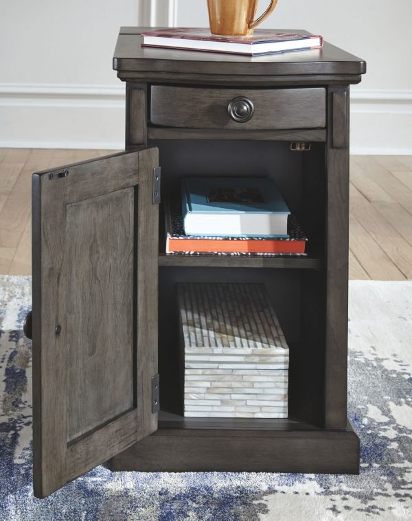 Laflorn – Gray – Chair Side End Table - 5