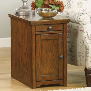 Laflorn – Brown – Chair Side End Table - 1